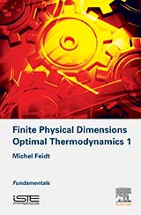 Finite Physical Dimensions Optimal Thermodynamics 1