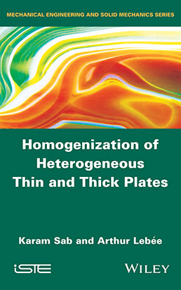 Homogenization of Heterogeneous Thin and Thick Plates